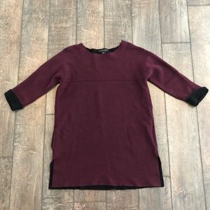 Tahari Split Hem Oversized Tunic SUPER SOFT